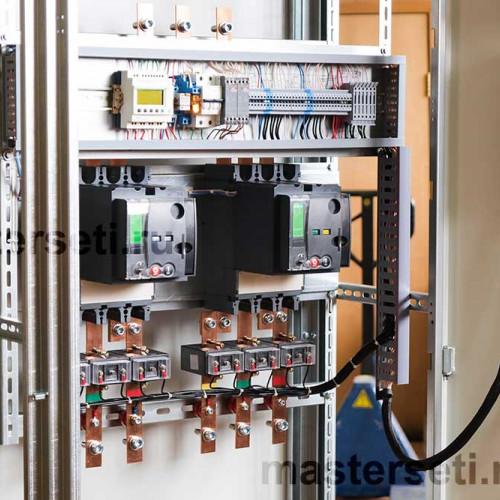 АВР, автоматические выключатели Schneider Electric с моторными приводами
