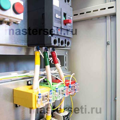 ВРУ, трансформаторы тока и вводной автомат
