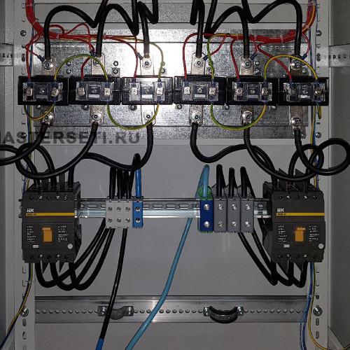 Вводные автоматические выключатели и трансформаторы тока