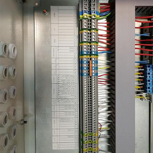 Клеммники и кабельные вводы ЩУ