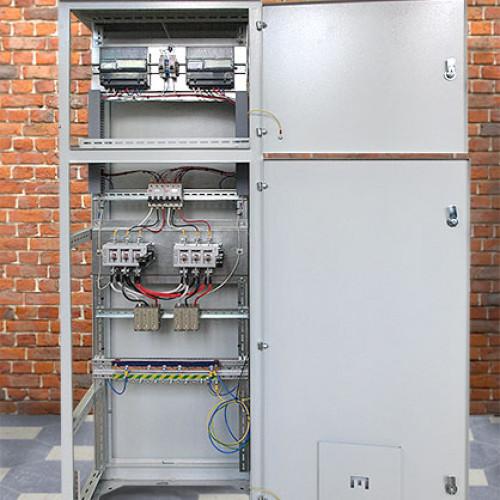 Вводная панель на два ввода с устройствами учёта