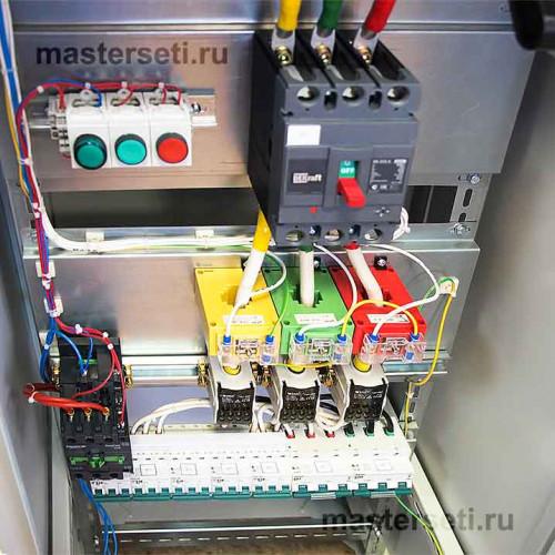 ВРУ, внутреннее устройство блок управления щитом вентиляции