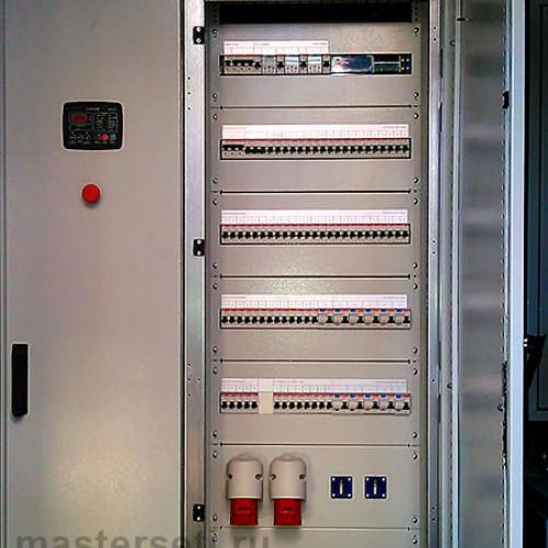 Электрический шкаф ВРУ, АВР и РЩ