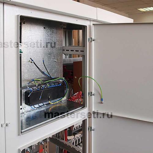 Отсек для счётчика электроэнергии, подготовка для установки счётчика заказчика