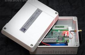 SMS контроллер отопления в корпусе