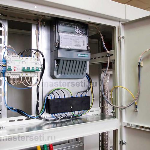 Отсек для счётчика электроэнергии вводной панели