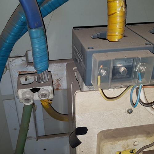Состояние старого электрощита